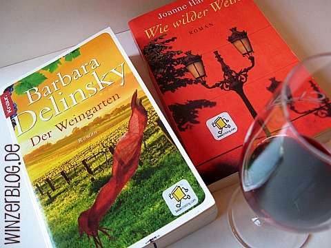 Bookcrossing im Weinverkaufsraum